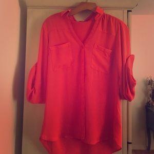Express Portofino blouse, excellent condition.